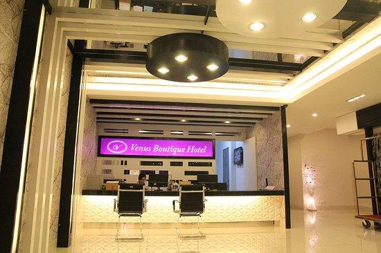 Venus Boutique Hotel: Lobby