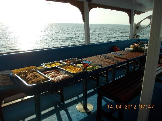 Eden Divers Khao Lak: Frühstück II - es gibt 2 :-)