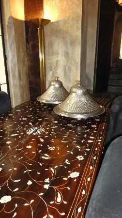 Riad Dar Darma: Dining Room downstairs