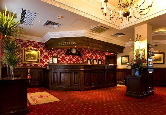 Chamberlain Hotel: Reception