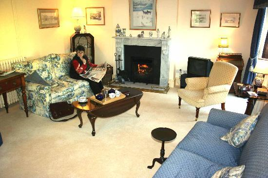 Fullers Earth Dorset B&B: Guests' Sitting Room