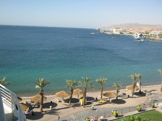 Leonardo Plaza Hotel Eilat: View from room balcony