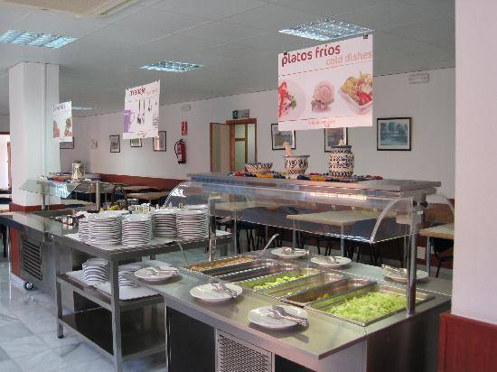Buffet comedor - Picture of Almeria Inturjoven Youth Hostel ...