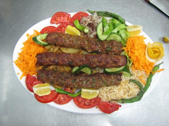 Mehmet and Ali Baba Kebab House: adana kebab ( family size )