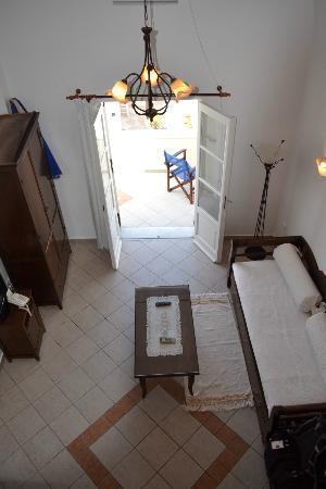 Reverie Santorini Hotel : View from loft