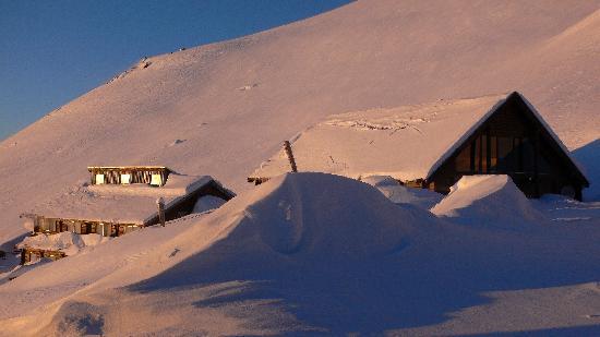 Sunrise at hanmer Springs Ski Area