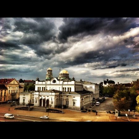 Radisson Blu Grand Hotel, Sofia: prise de ma chambre