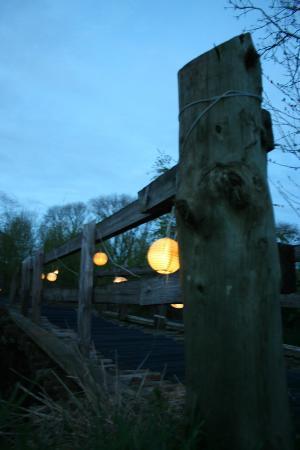 Boutique Camping: Bridge to Yurt 1