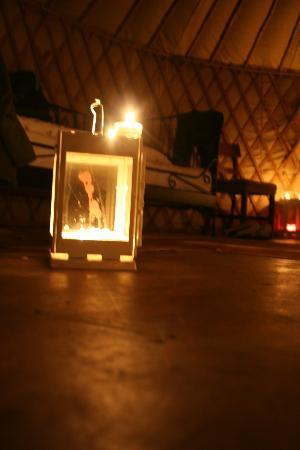 Boutique Camping: Candle light
