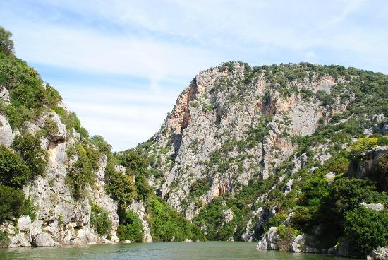 Ecoparco Neule': Panorama del Lago Cedrino