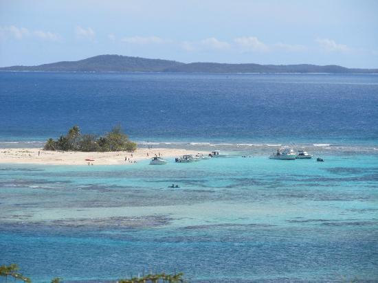 View of Palominitos Island from Palomino Island