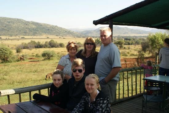 Bakubung Bush Lodge : Beautiful views of the Pilansberg Game Park