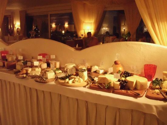 Golserhof: Buffet de fromages (36 sortes)