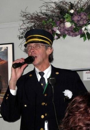 Blissfield Murder Mystery Train: Train conductor