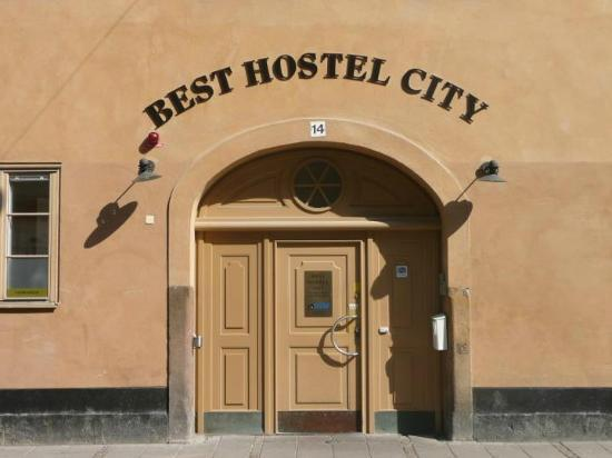 Birka Hostel: Ingresso