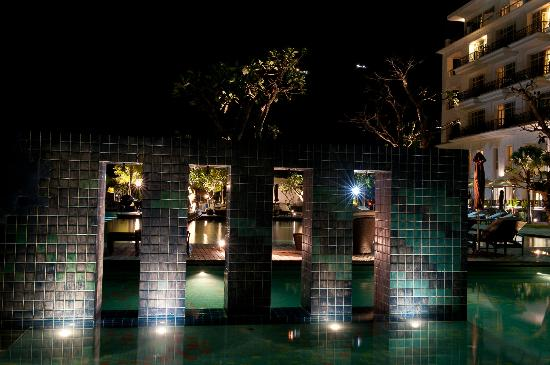 The Danna Langkawi, Malaysia: Pool at Night