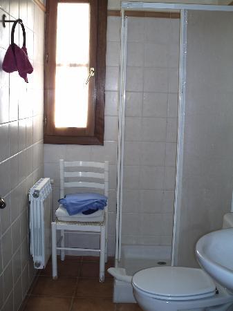 Casa Rural La Mota: Uno de los baños