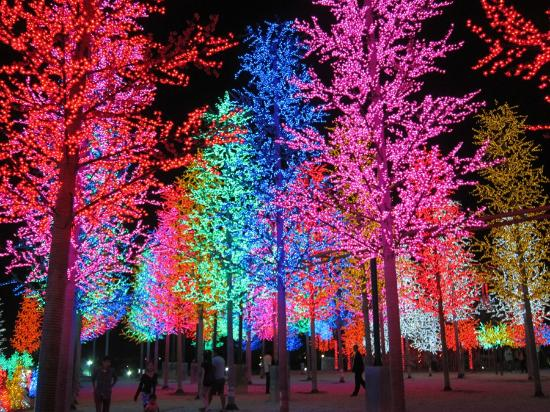 the beautiful lights - picture of i-city, shah alam - tripadvisor