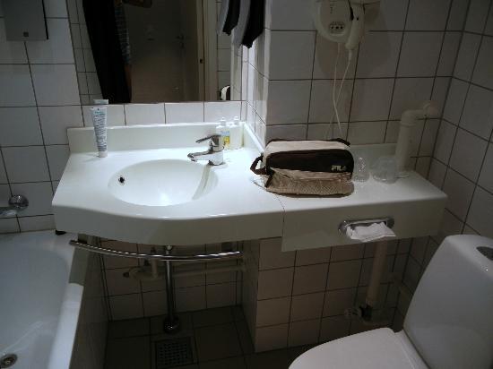 Copenhagen Mercur Hotel: Bagno
