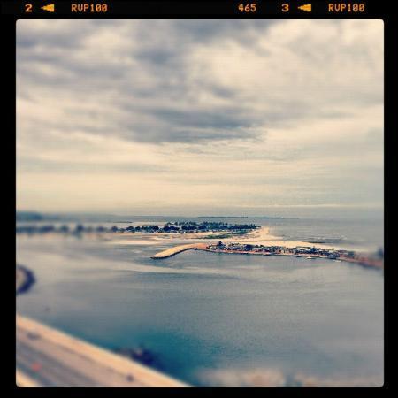 Hotel Baia Luanda: View from the top w/Instagram