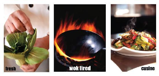 "Zheng Asian Bistro : ""Fresh Wok Fired Cuisine"""