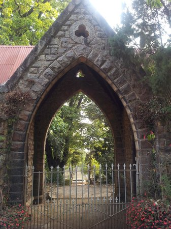Coonoor, India: The entrance through which you cannot enter