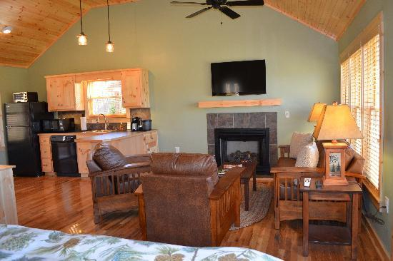 The Cabins at White Sulphur Springs: Interior photo of The Cabins