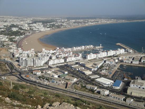 Agadir Kasbah: la Marina