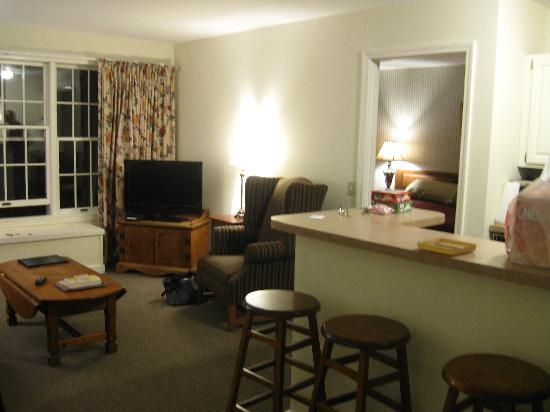Country Inn at Jiminy Peak: livingroom area