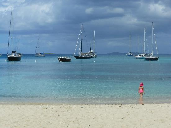 Virgin Islands Campground: Honeymoon Beach