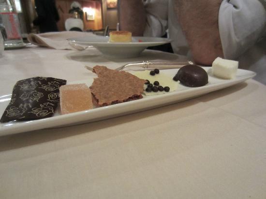 Le Cerf : avant le dessert !
