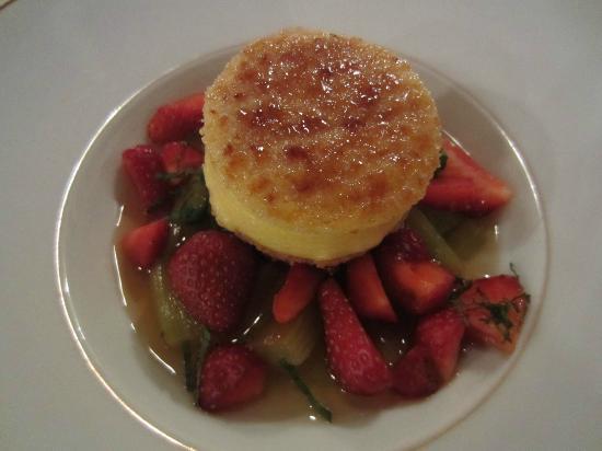 Le Cerf: dessert