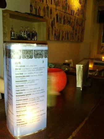 Dostrece: carte des cocktails !