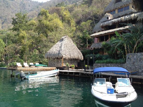 Laguna Lodge Eco-Resort & Nature Reserve: Llegando al hotel