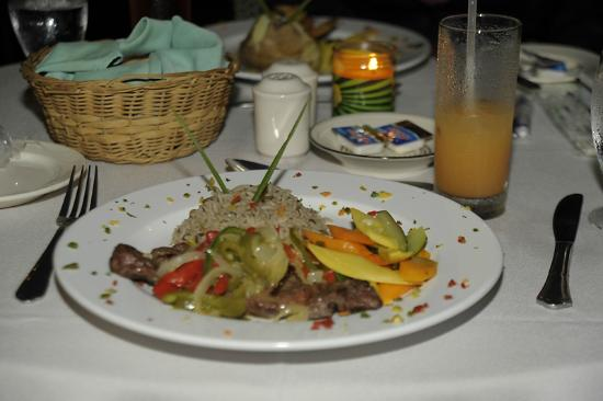 Grand Royal Antiguan Beach Resort: My dinner