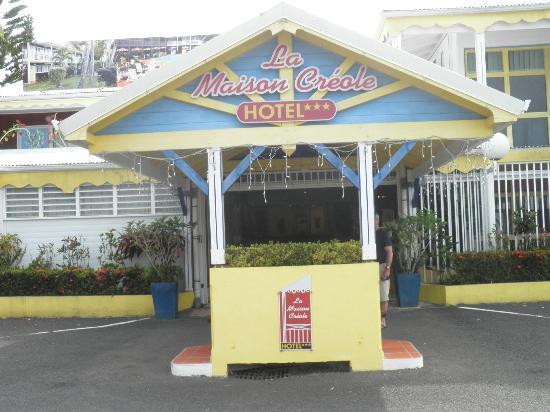 La Maison Creole: Entrée de l'Hôtel