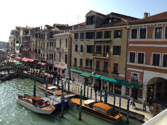 Ca' Venezia: view from the Rialto Bridge
