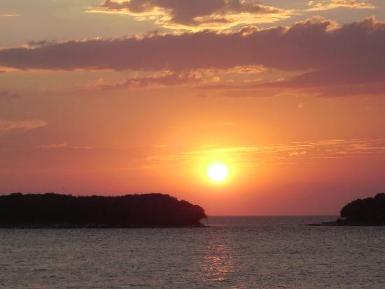 Врзар, Хорватия: Sonnenuntergang