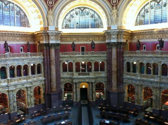 Biblioteca del Congreso: View of Reading Room