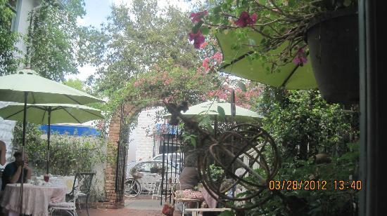 Garden Gate Tea Room In Mt Dora Fl Picture Of The