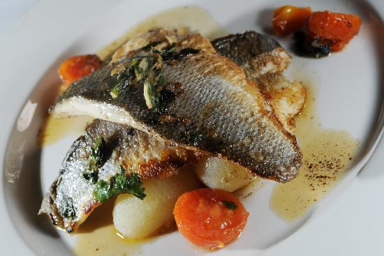 The Old Lodge: Old Lodge sea bass