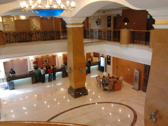 Oriental Garden Hotel: Lobby from business center