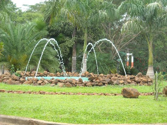 Amerian Portal del Iguazu: Garden at hotel entrance