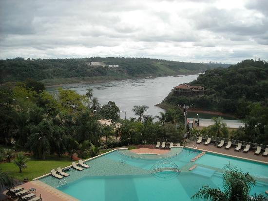 Amerian Portal del Iguazu: River view from room