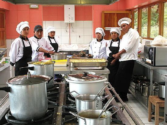 nuestro personal de cocina picture of quinta lucre