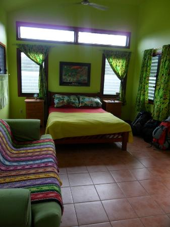 Lower Dover Field Station & Jungle Lodge: Inside the Rasta Cabana