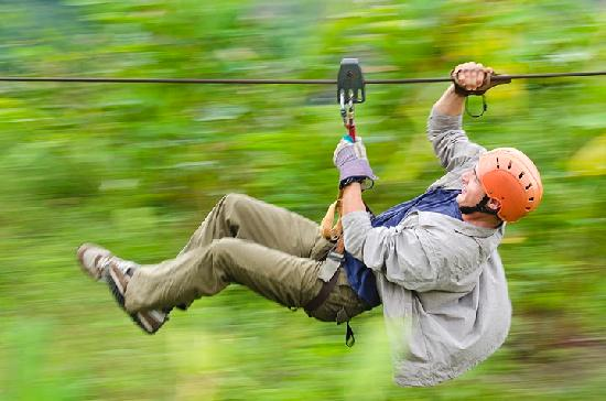 Hotel Montana de Fuego Resort & Spa: Canopy Tour