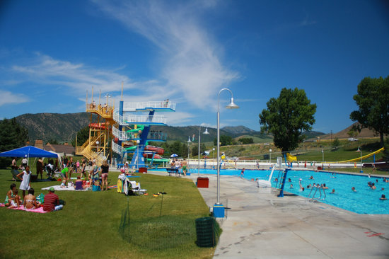 Olympic Swimming Complex: 10 meter diving platform summertime fun in the sun