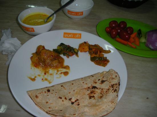 Sharmaji Vegetarian Indian Restaurant: The Food