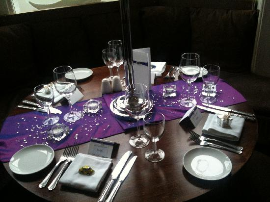 Sage Bistro : Gordons 60th Birthday Decor